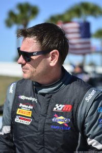 Marc at the pre-grid prior to Round #1 of the Trans Am Series race at Sebring.